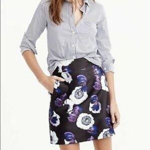 J Crew - A line mini skirt  NWT